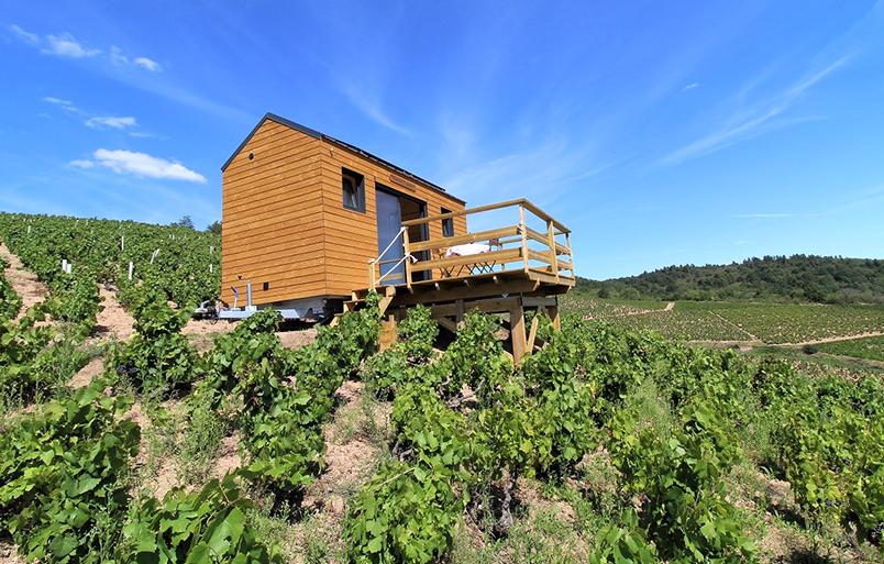 Domaine Aufranc - Le Tiny House